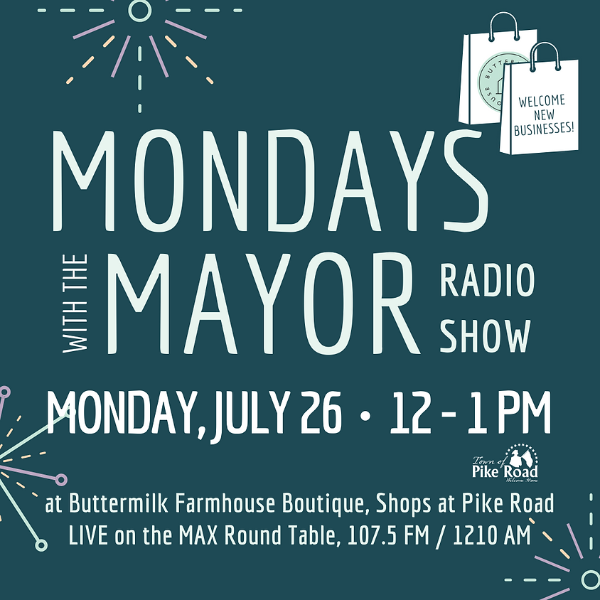 Mondays with the Mayor at Buttermilk Farmhouse