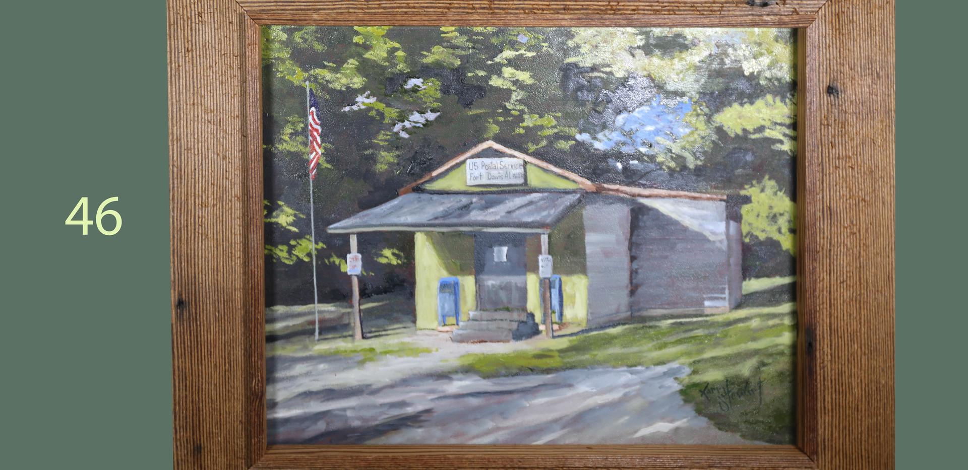 Fort Davis AL Post Office