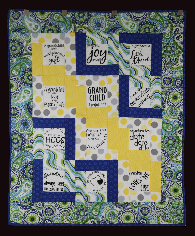 All About the Grands Quilt by Linda Stringer