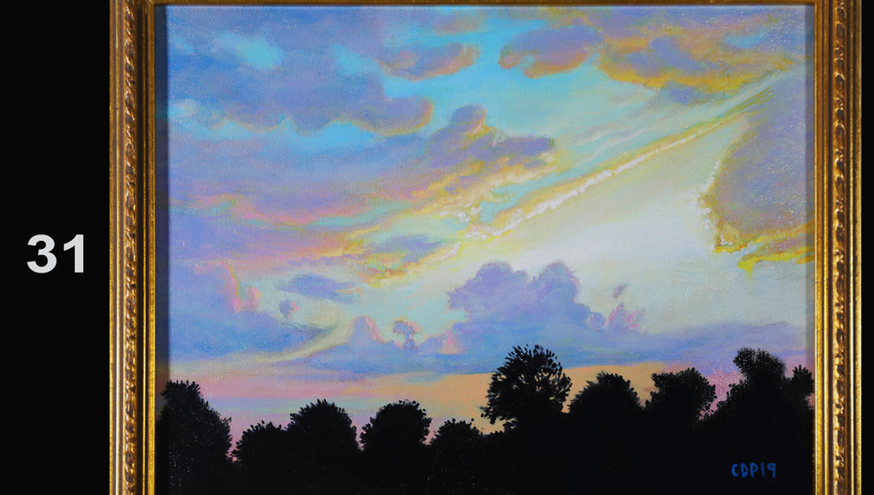 31. Mockingbird Sunset