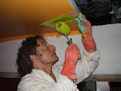 21-17-Clinique du Parc-peinture du plafond par JPE