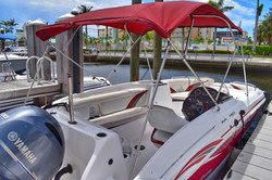 24 Ft. Deckboat Rental
