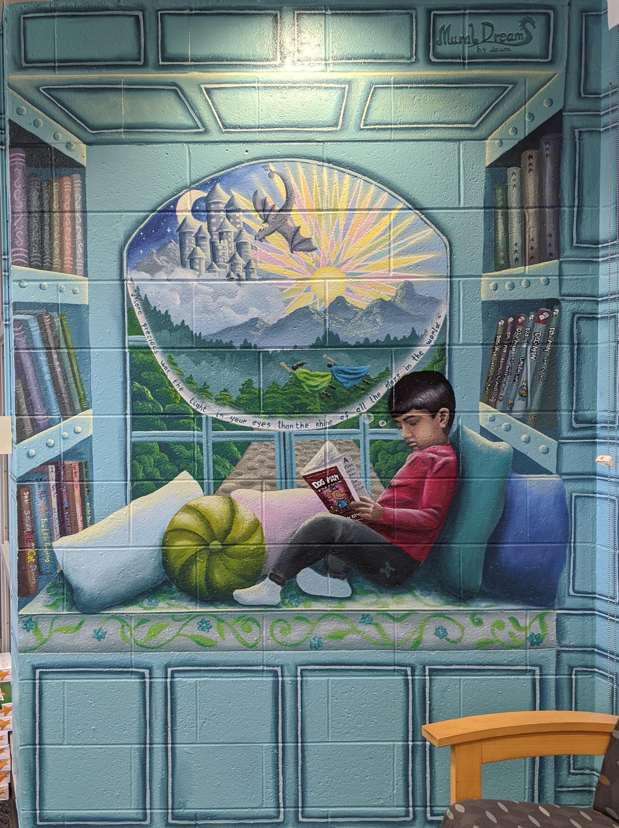 Library Memorial Mural