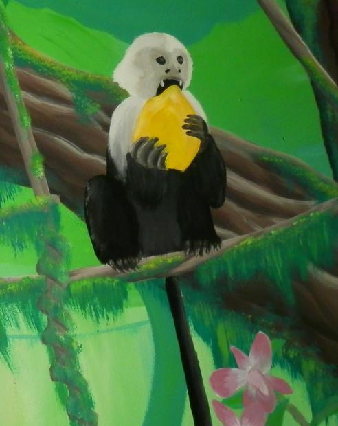 Rainforest kid's mural