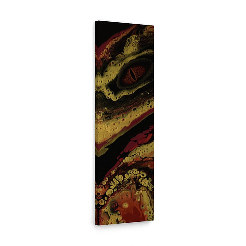"""""""The Fire Dragon shows its gold"""" Canvas Gallery Wraps"""