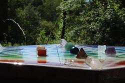Crystal Platonic solids