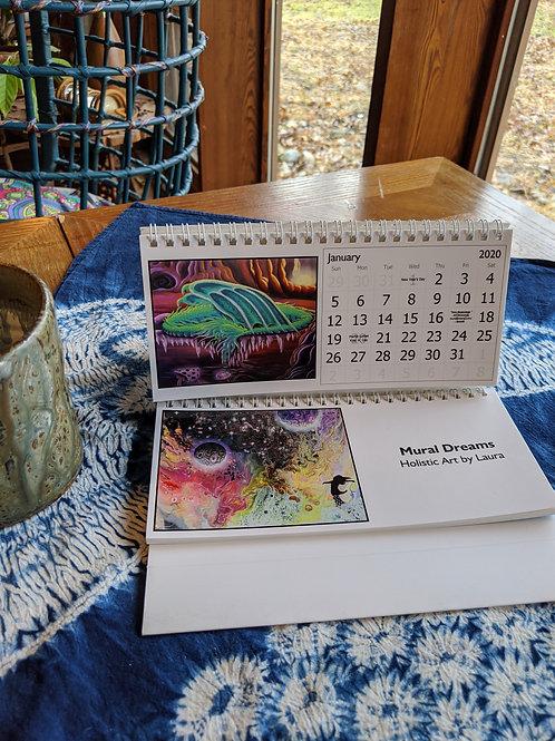 Transcendental Fantasy Desk Calendar
