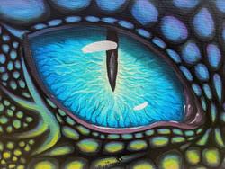 Aqua Dragon eye