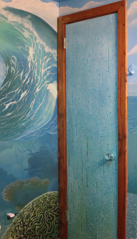 door to closet