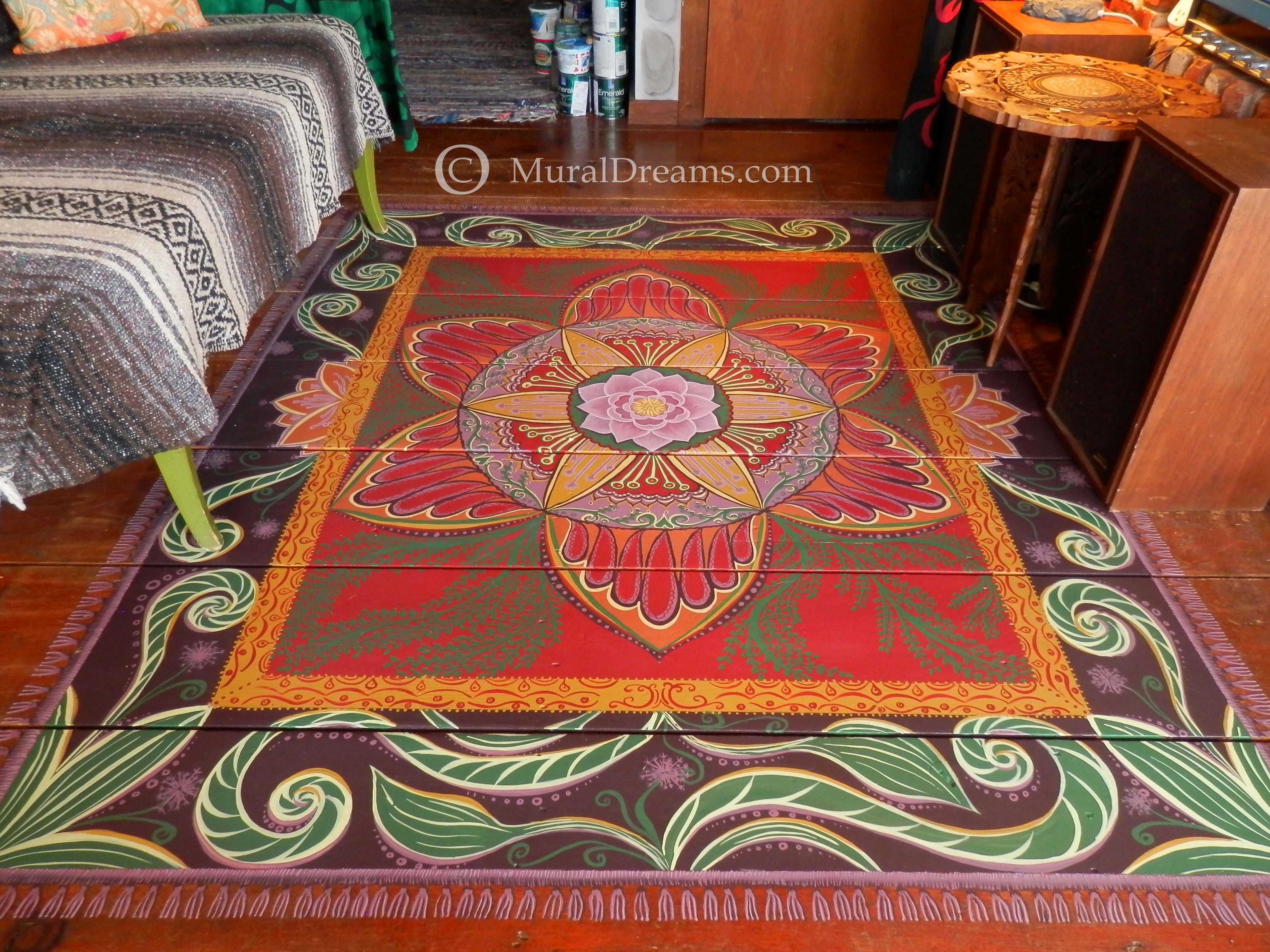 rug mural