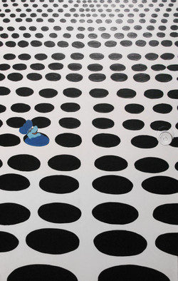 A Blue Meanie in the Sea of Holes