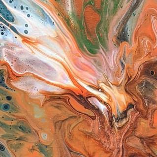 Eastern Spirituality in Flow Art
