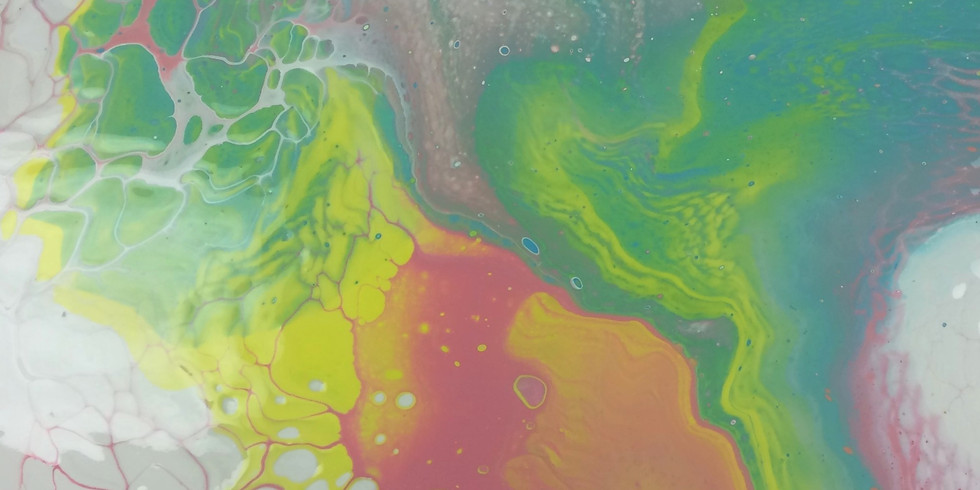 Flow into Wellness/ Acrylic Pouring Workshop