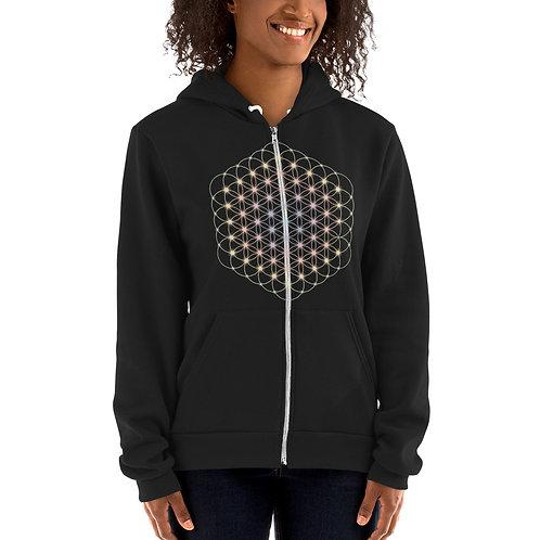 """""""Flower of Life"""" Hoodie sweater"""