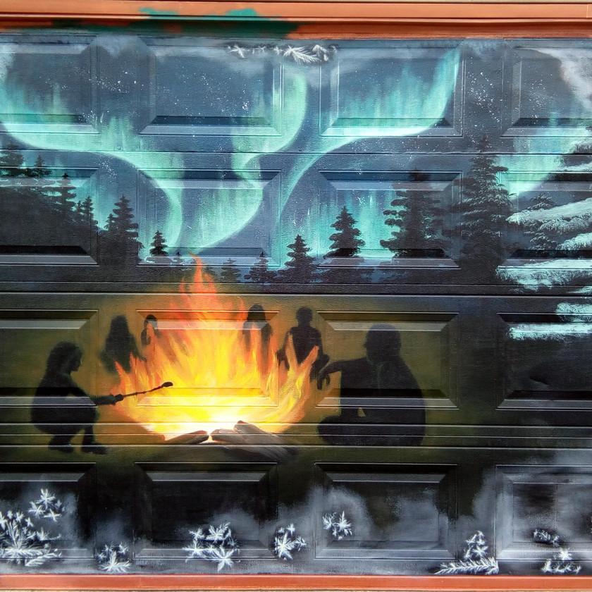 Winter Solstice mural