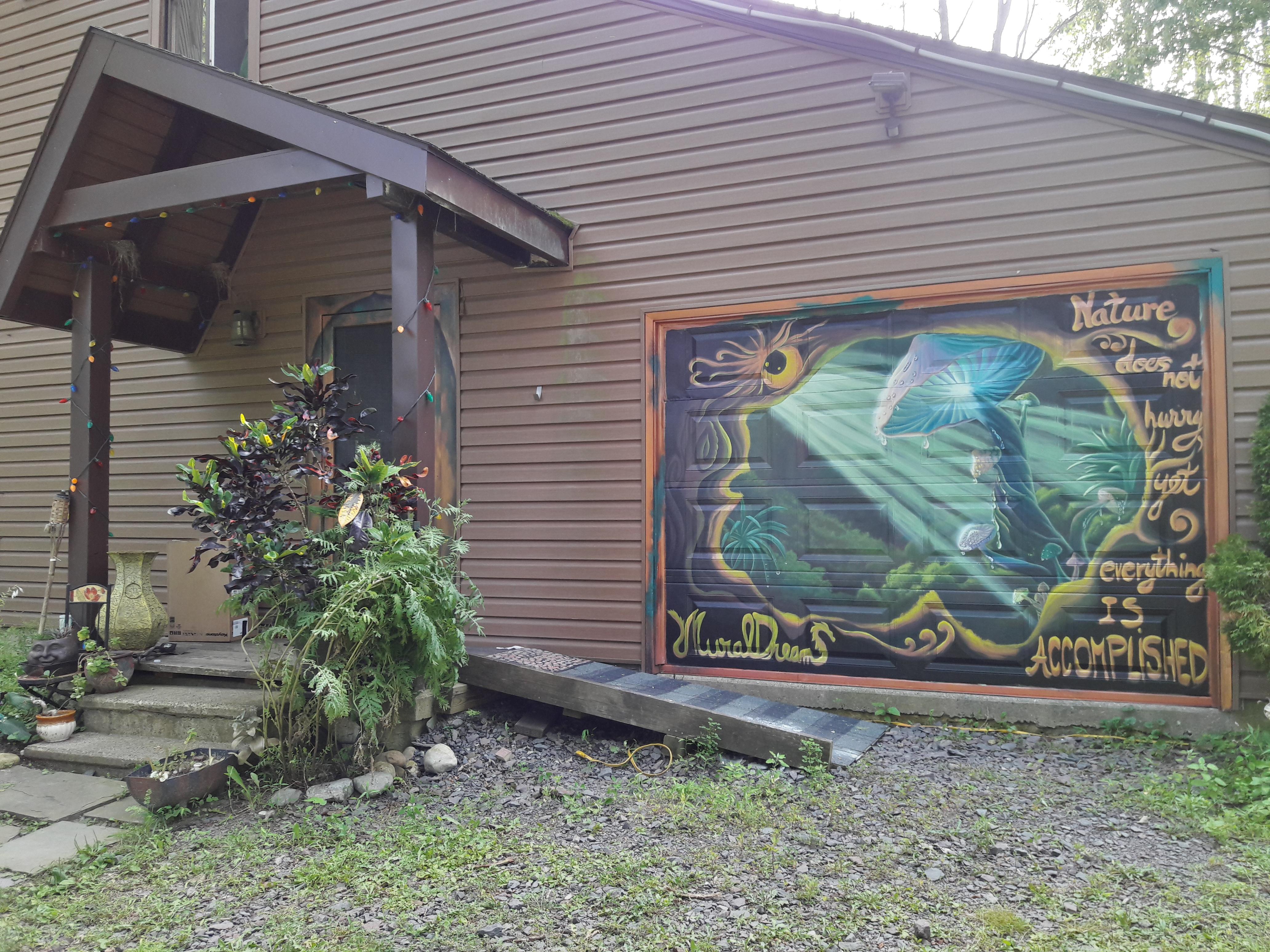 seasonal garage door