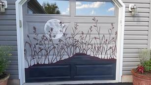 Minimalist's Garage door Mural