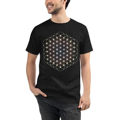 """Flower of Life"" Organic T-Shirt"