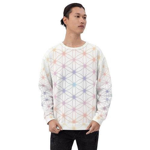 """Flower of Life"" Unisex Sweatshirt"