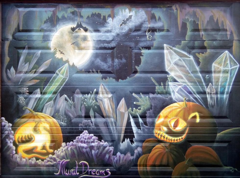 Pumpkin crystal cave