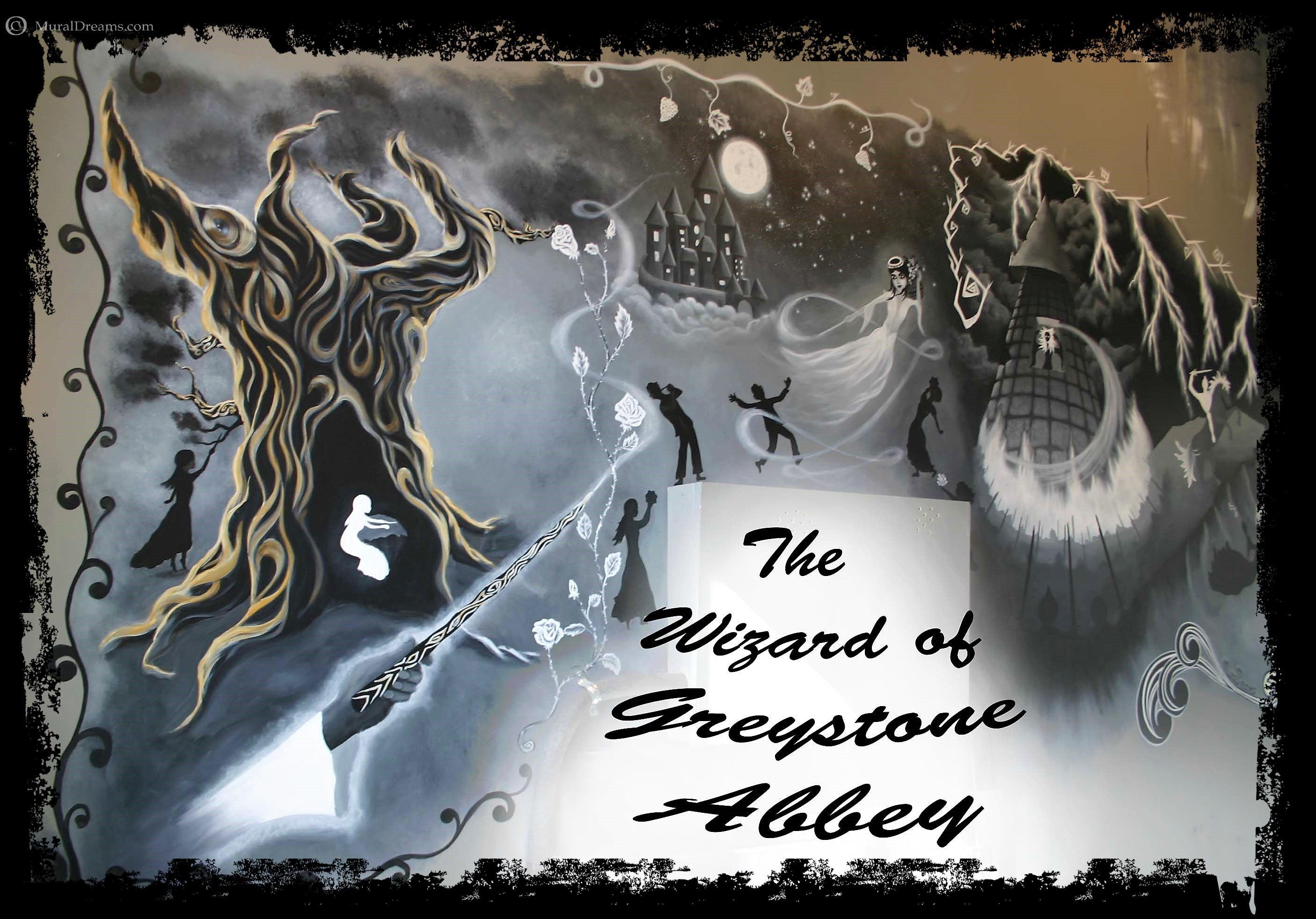 Chestnut Hill Escape Room Mural