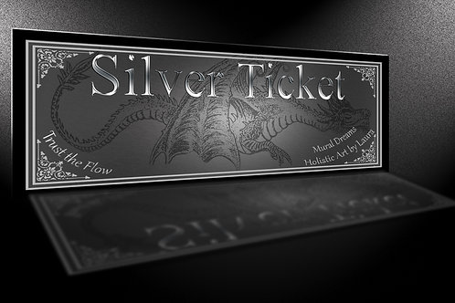 Flow Art Workshop Silver Ticket