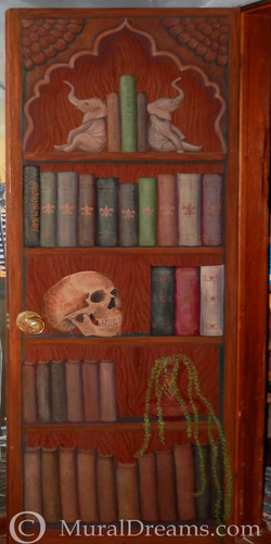 faux bookcase