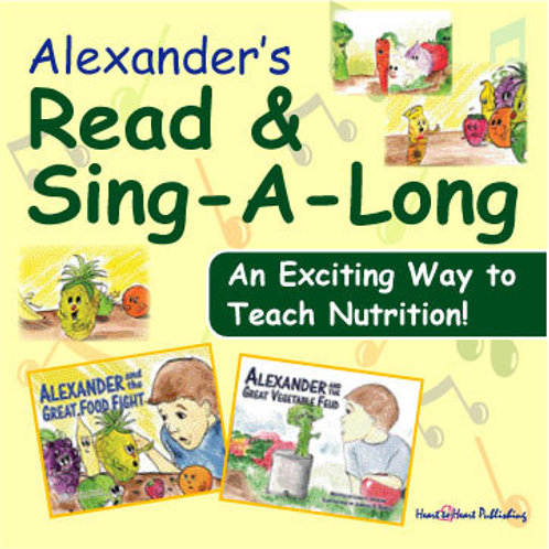 Alexanders Read and Sing-A-Long CD