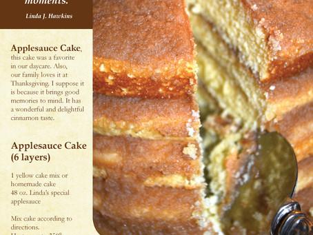 Yummy! Applesauce Cake!