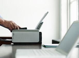 Man Utilisation de l'imprimante de l'ord