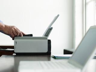Como imprimir documentos de anos anteriores