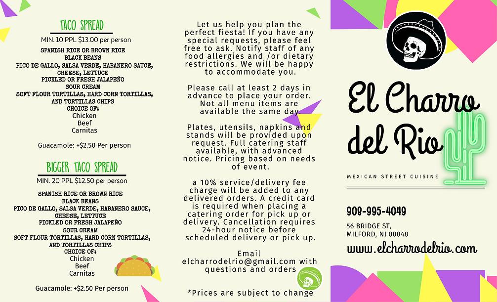Catering Menu- El Charro del Rio_page-1.