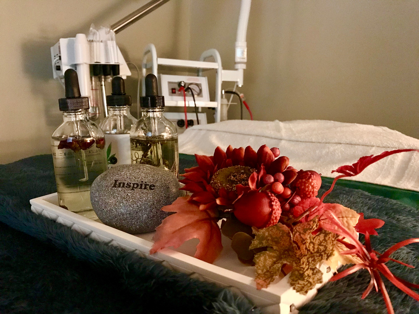 Fall Facial Room