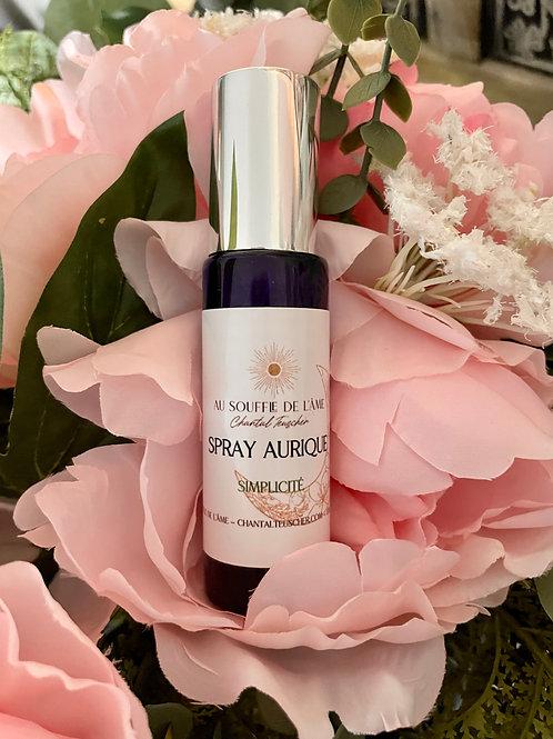 """Spray aurique """"Simplicité"""" 30 ml"""