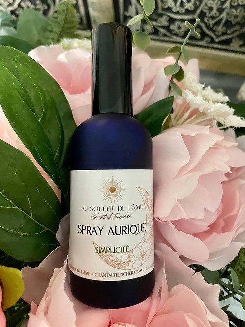 """Spray aurique """"Simplicité"""" 100ml"""