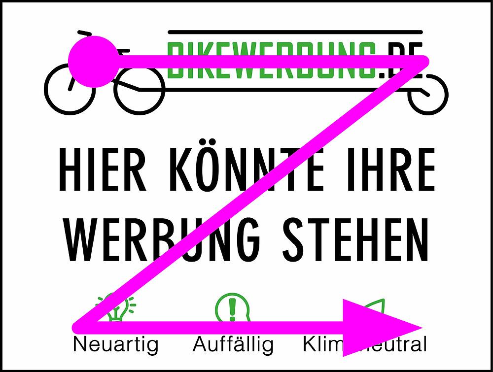 Z-Form-für-Fahrradwerbung