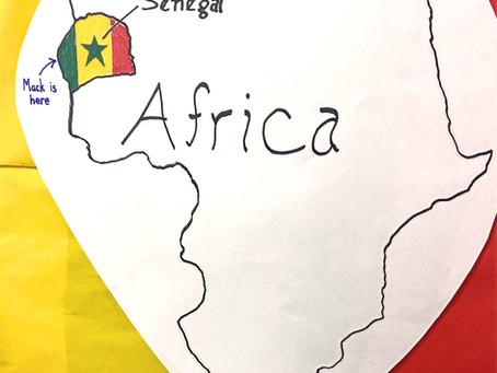 Mack in Senegal