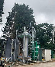 Commissioning of Llandewi Brefi tertiary filter plant (Welsh Water)