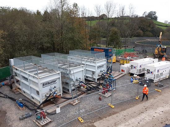 SPS - Lletty Brongu WwTW Solids/liquid separation during Humus Tank refurbishment/upgrade