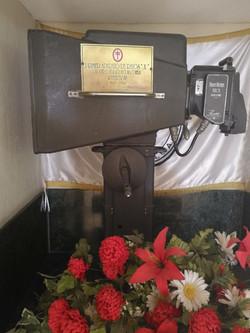 Primera máquina de rayos-x de Guate