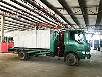 รถส่งของ พัทยา ส่งวัสดุก่อสร้าง จเรรัตน์ รถเฮี๊ยบ อิฐมวลเบา