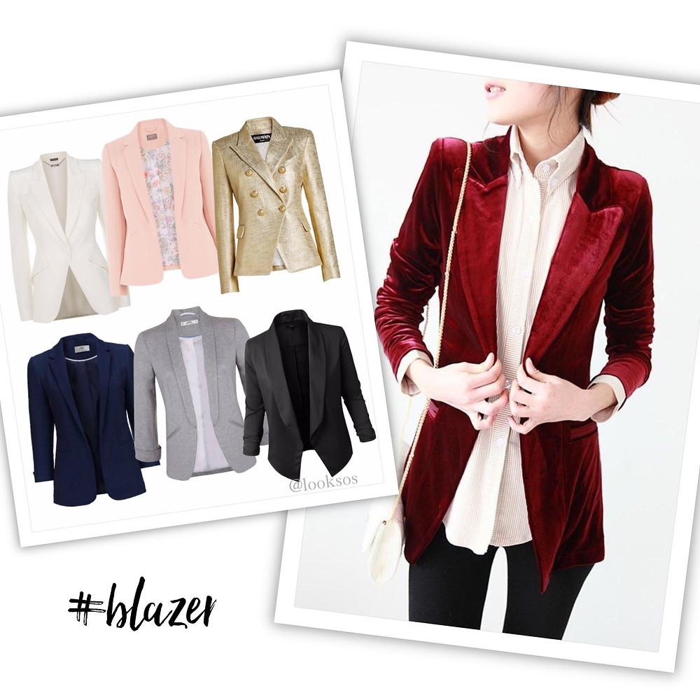 Blazer - 10 peças que toda mulher deve ter no seu Guarda-roupa