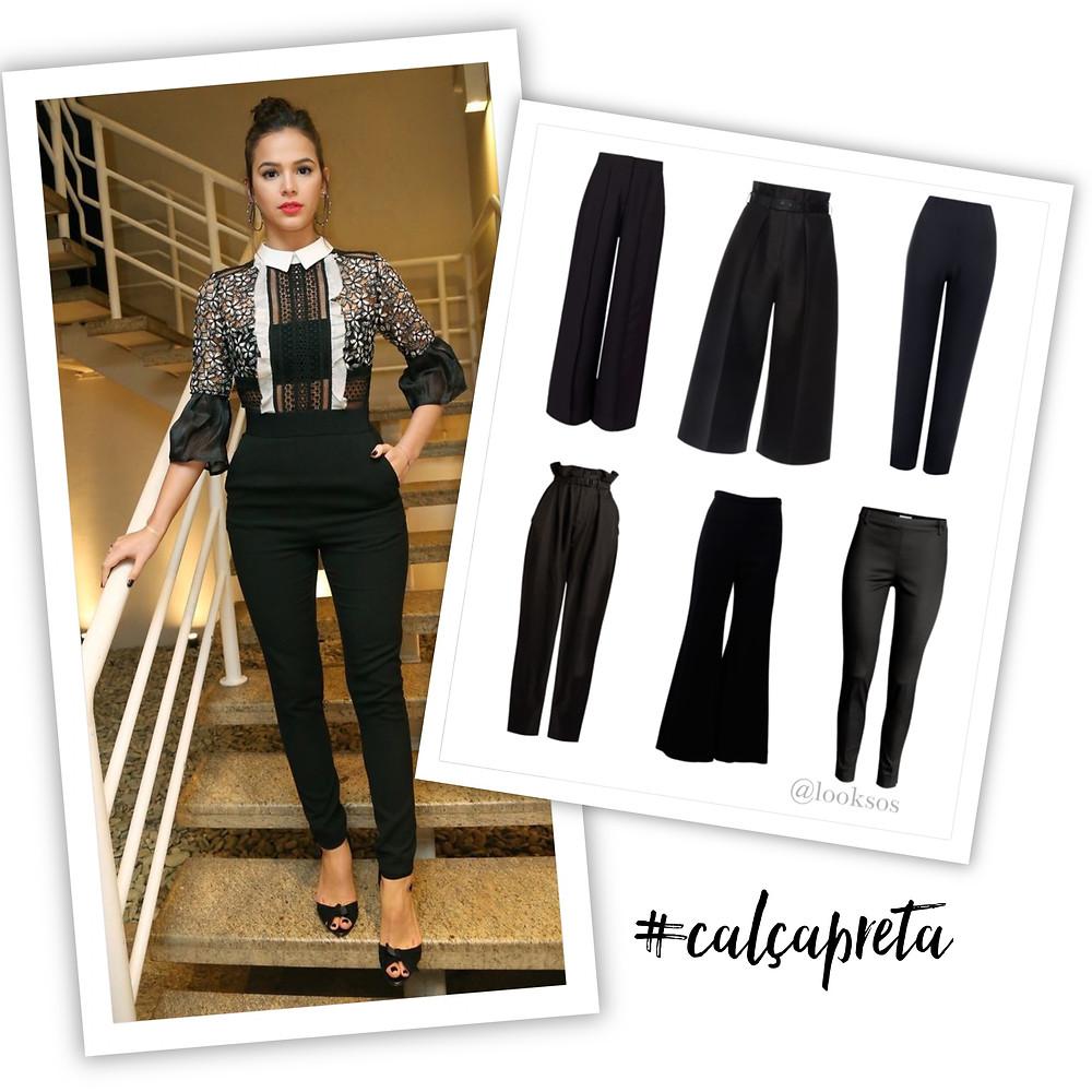 Calça preta - 10 peças que toda mulher deveria ter no seu Guarda-Roupa