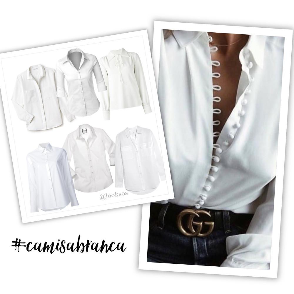 Camisa Branca - 10 peças que toda mulher deveria ter no seu Guarda-Roupa