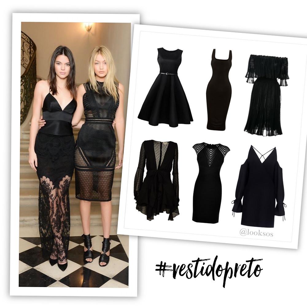 Vestido preto - !0 peças que toda mulher deveria ter no seu Guarda-roupa.