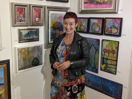Cheshire Art Fair- what a week!