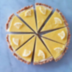 Lemon Ginger Tart🍋🍋🍋_#plantcafeseoul#