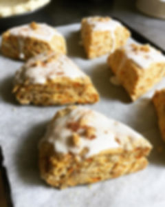 Carrot Cake Scones! 🥕🥕🥕Available now