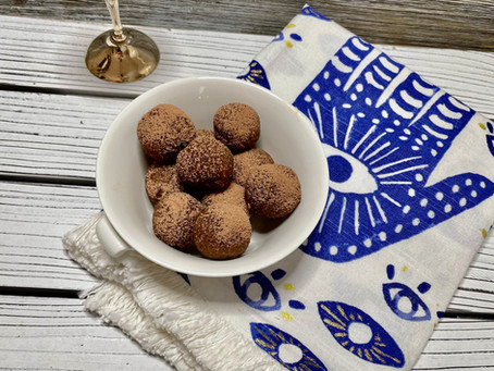 Charoset Energy Balls - Not just for Passover