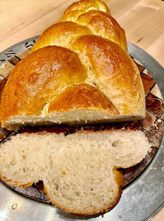 Traditional Braided Challah - The Bread we eat on Shabbat! (חַלָּה‎)